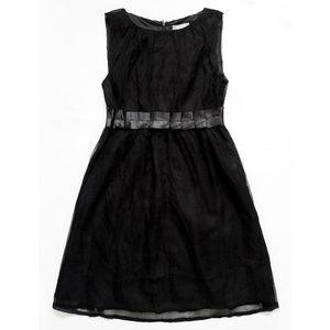 NEW Silk Sheer Layer Empire Waist Sleeveless Dress